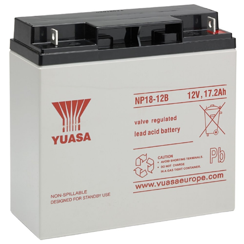 Yuasa Sealed Acid Battery 12V 18ah