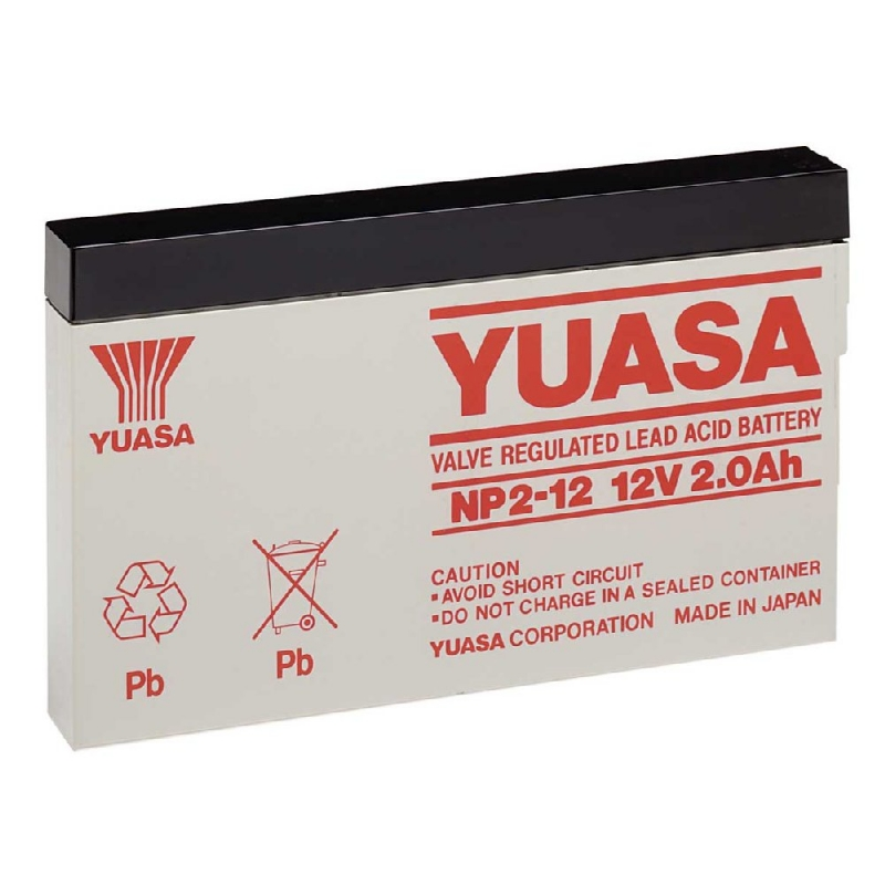 Yuasa Sealed Acid Battery 12V 2ah