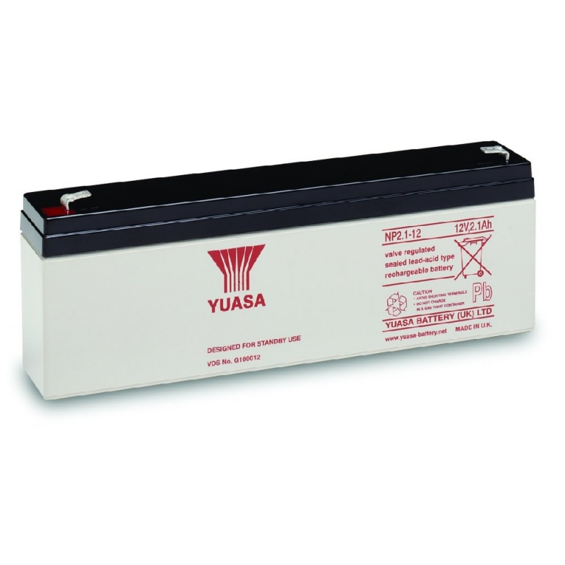 Yuasa Sealed Acid Battery 12V 2.1ah