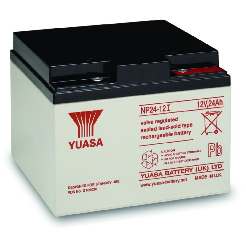 Yuasa Sealed Acid Battery 12V 24ah
