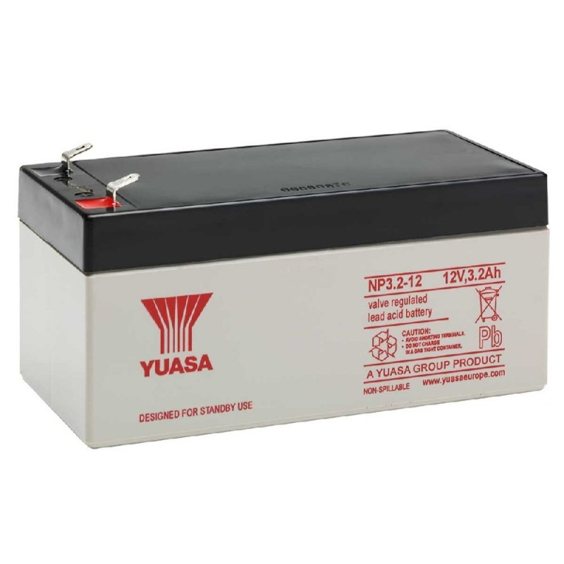 Yuasa Sealed Acid Battery 12V 3.2ah