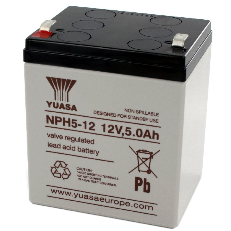 Yuasa Sealed Acid Battery 12V 5ah