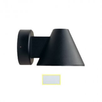 Satin Silver 18w Wall Light