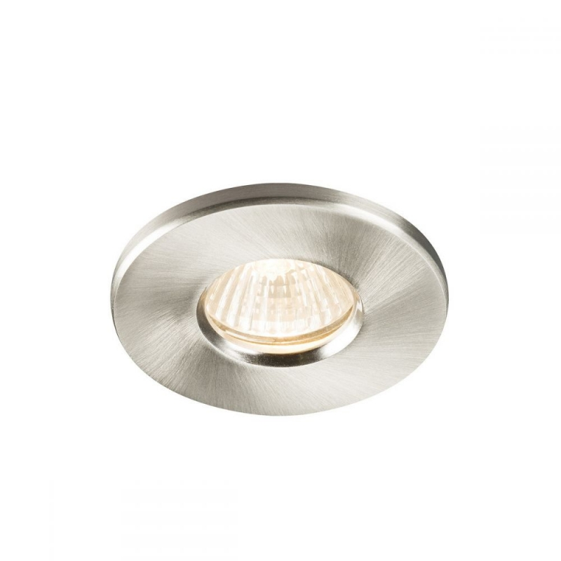 IP65 Brushed Chrome GU10 or MR16 Recessed Downlight