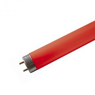 Sylvania 18w 600mm Red Fluorescent Tube