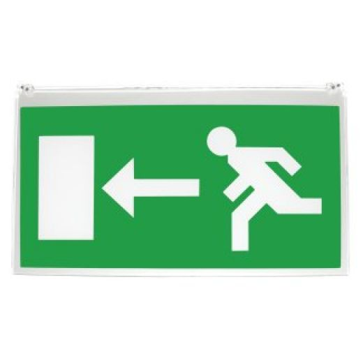 Left-Right Sign For Recessed Emergency Fitting RLGDLR