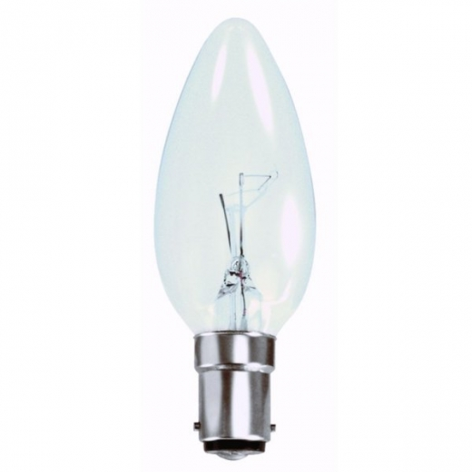 Eveready SBC 60W Clear Candle ERCAN60SBCC/S765