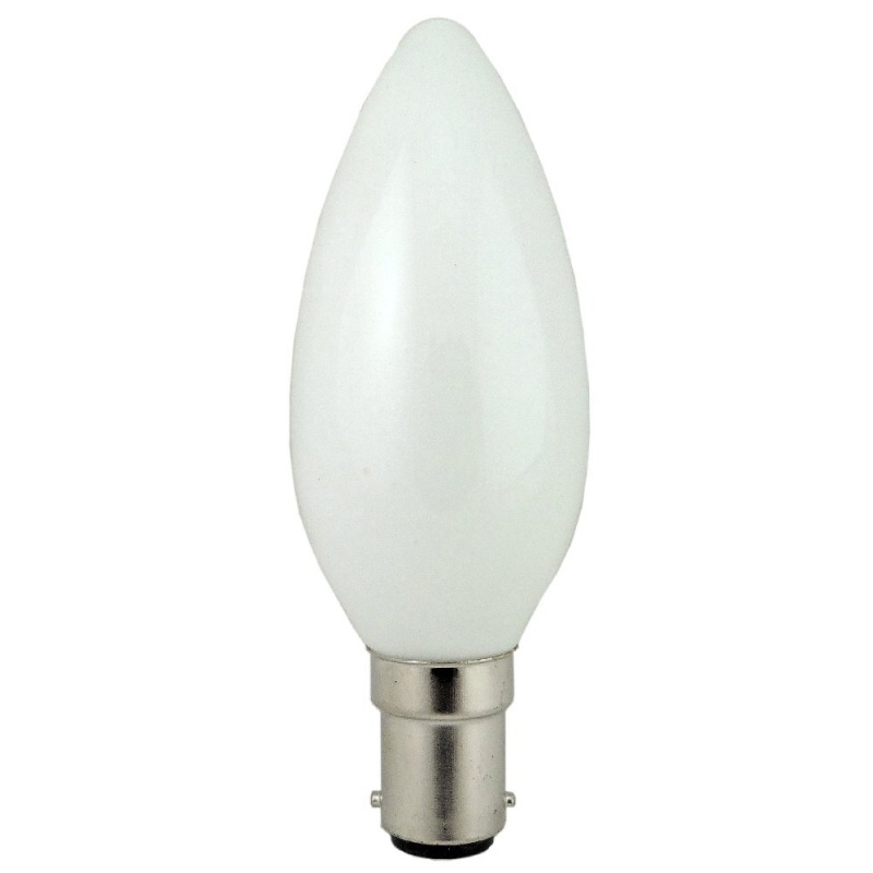 Opal Candle Bulb 25W SBC Obsolete. Please click here for alternative