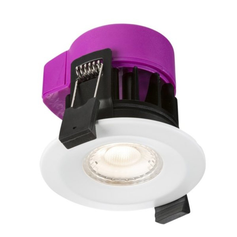 Knightsbridge 6W IP65 Fire Rated LED Downlight Dim to Warm RW6DTW