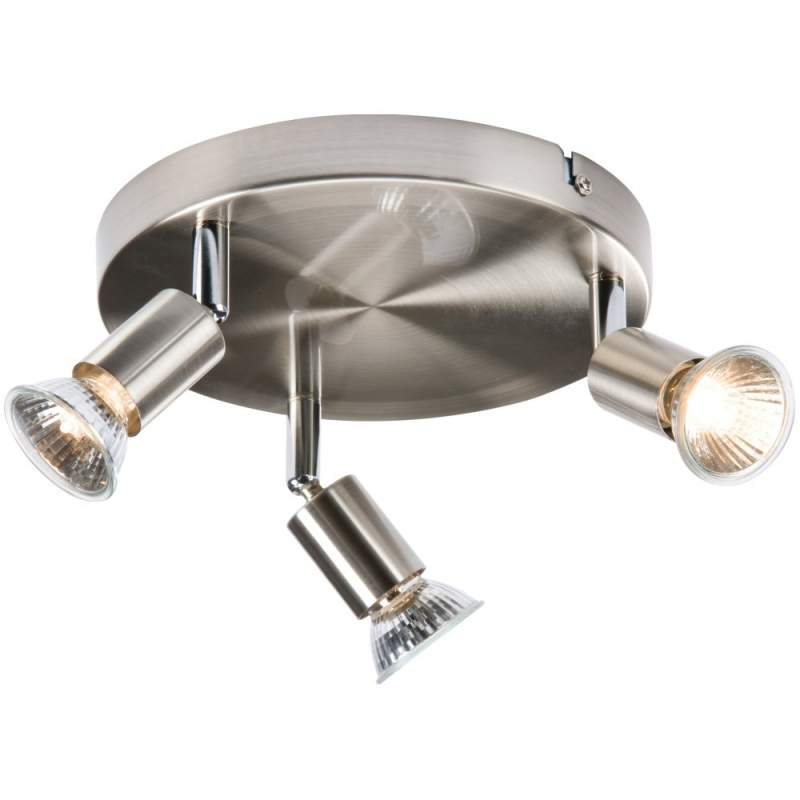 Triple Spotlight LED Light Fitting SPGU3BC