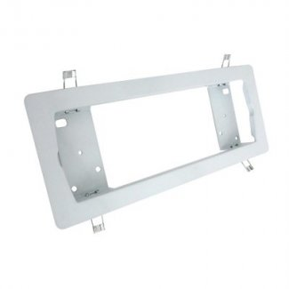 Eterna White Semi Recessed Emergency Bulkhead Frame