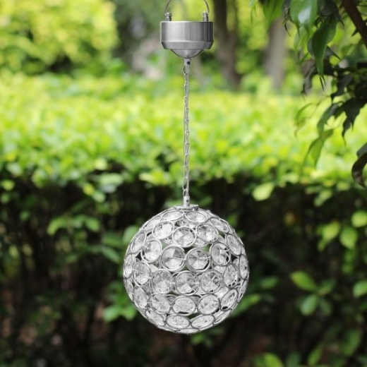 SS9835 Hanging Solar Crystal Ball