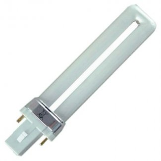 S-2 Pin Low Energy Fluorescent 7 Watt Cool White