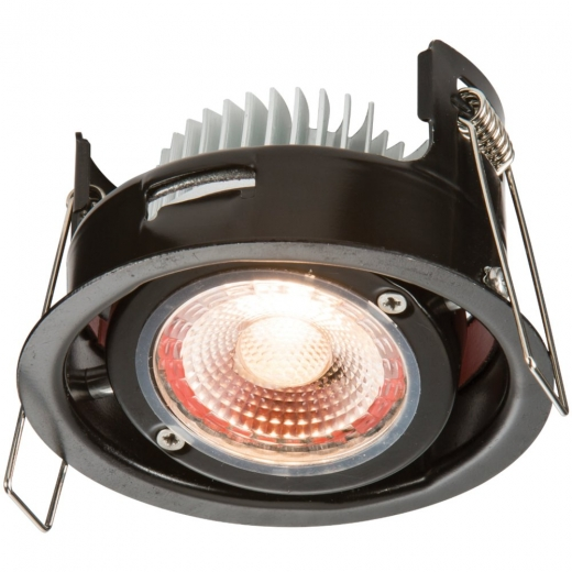 Knightsbridge ProKnight LED 8W Warm White Tilt Fire Rated VFR8TWW
