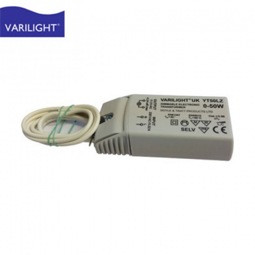 Varilight YT50LZ LED 0 < 50w Dimming transformer for 12V circuits