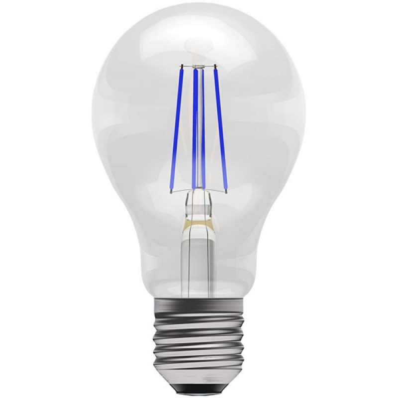 BELL 60062 4W Blue Coloured LED Filament GLS ES/E27 Bulb