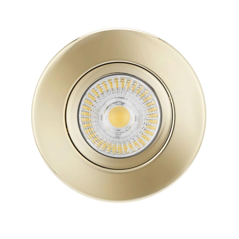 Bell 10659 Firestay Centre Tilt MV Downlight Brass