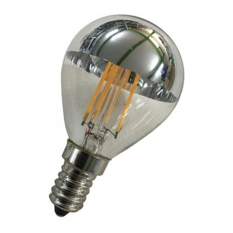 Baileys LED 2W SES/E14 Cap Crown Silver Golfball