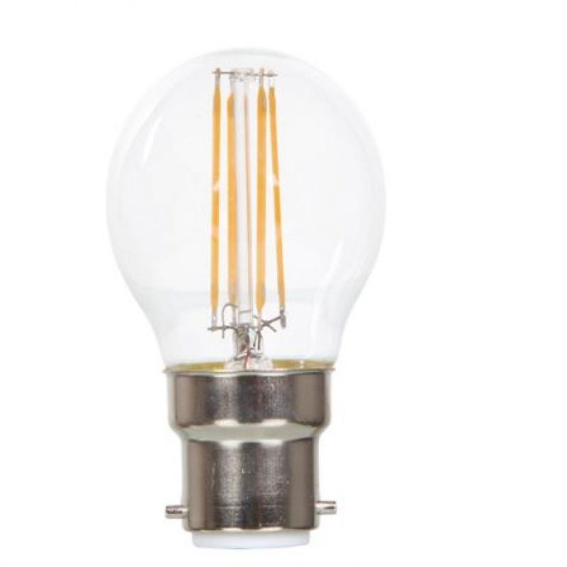 VLED Golf Ball LED Filament 5w BC Dimmable 2700K FIL062