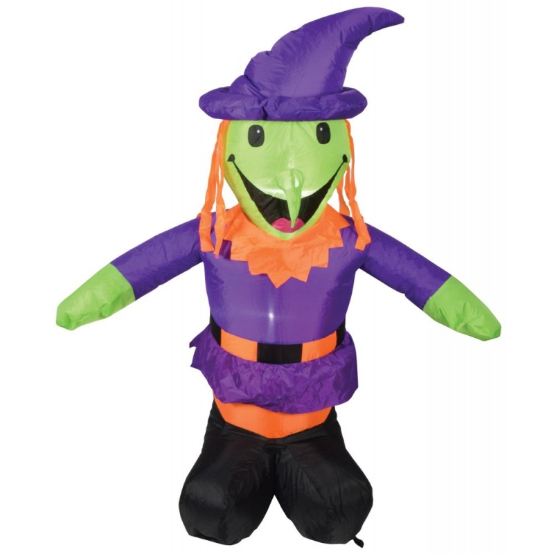4ft Halloween Inflatable Witch Display
