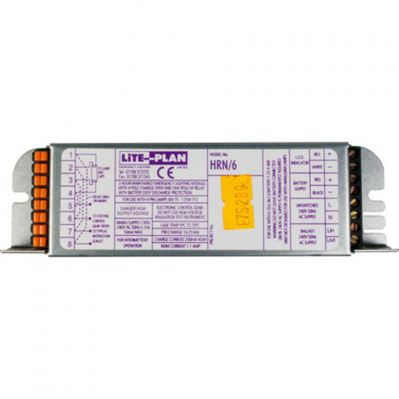 Liteplan HRN 6 Emergency Invertor Module 4-125W