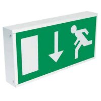 Box Sign Emergency Light