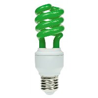 Coloured Energy Saving Light Bulbs