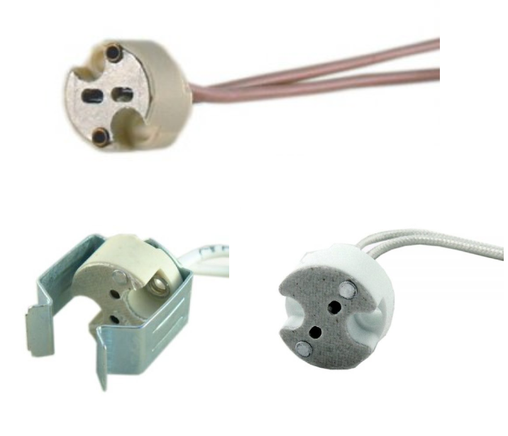 Lamp Holders For Low Voltage & Mains Voltage Lamps