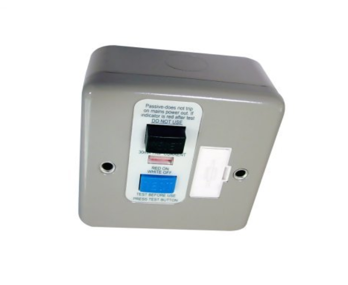 Surface Flush Metal RCD Connection Units